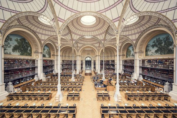 Красота библиотек мира в фотографиях Тибо Поирьера