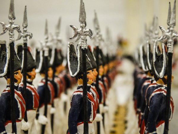 Игрушечные солдатики – история и современность