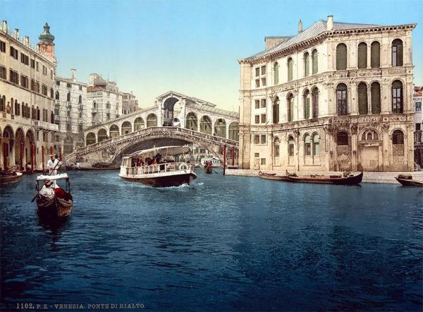Цветные фотографии старой Венеции