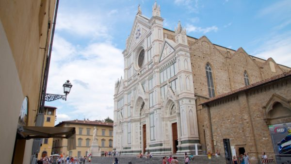 Базилика Санта-Кроче – усыпальница гениев в Италии