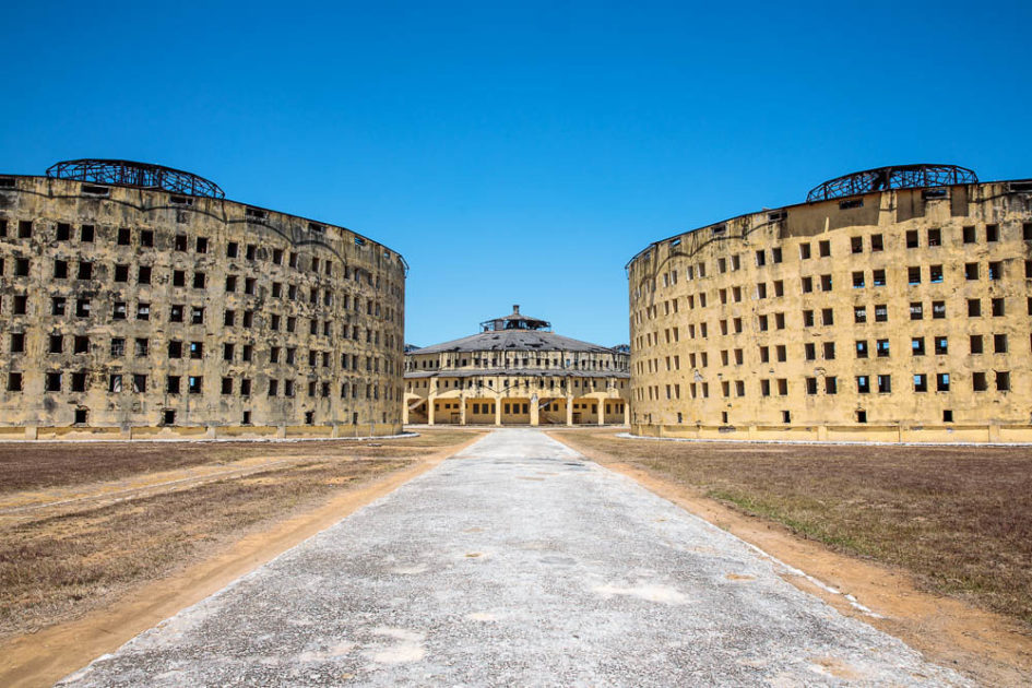 Пресидио Модело - заброшенная тюрьма в стиле паноптикума