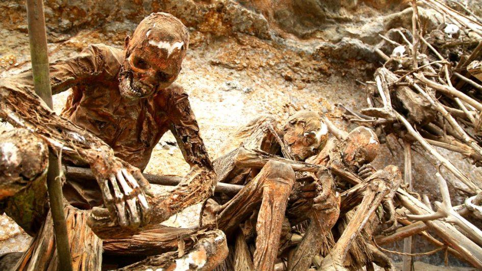 Ангу - опасное племя с необычными мумиями