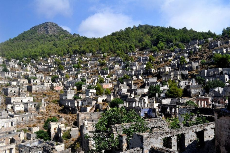 Каякой - греческий город-призрак в Турции