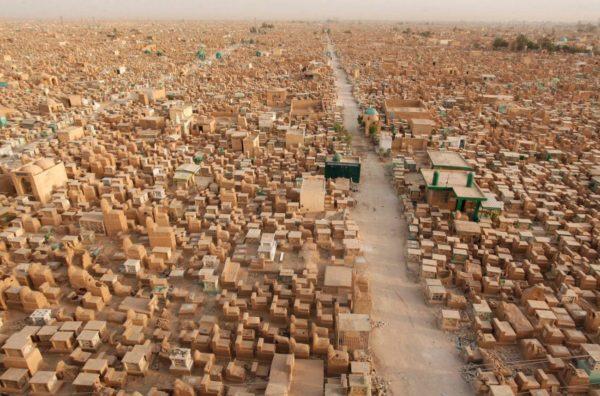 Вади ас-Салам - крупнейшее кладбище в мире