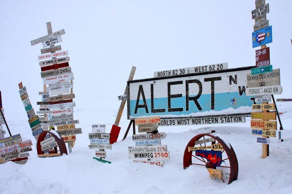 Алерт - самое северное поселение в мире