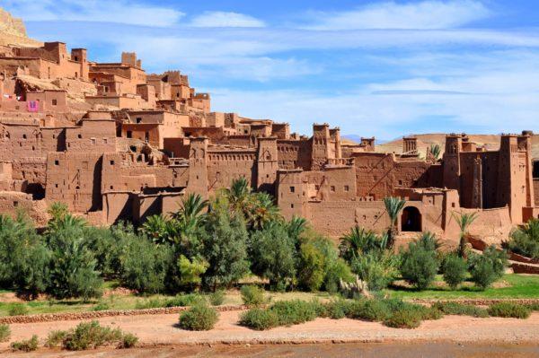Айт-Бен-Хадду - хорошо сохранившийся ксар с уникальными домами