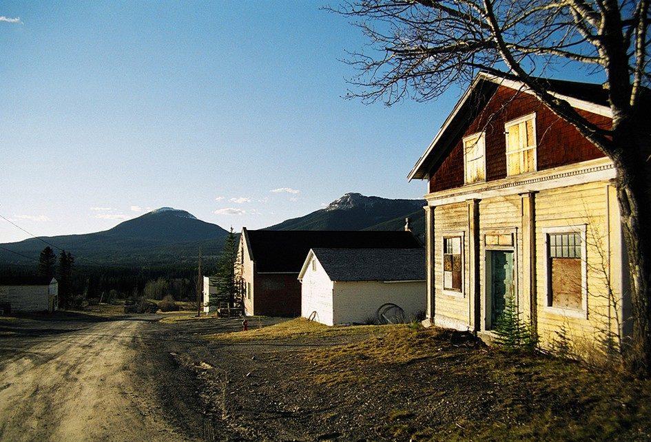 Нордегг - шахтерский город-призрак в Канаде