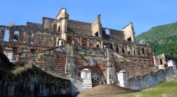 Сан-Суси - дворец, который стал важной достопримечательностью на Гаити