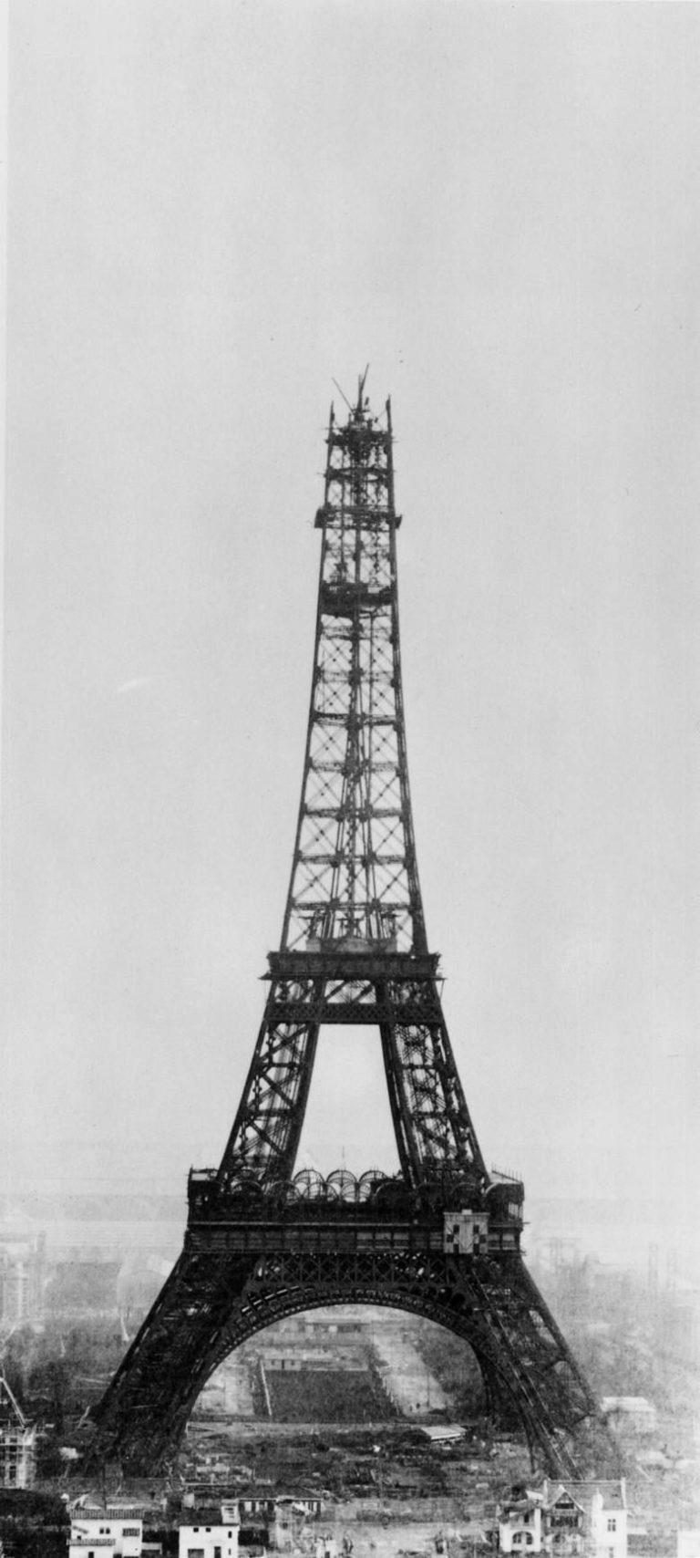 Как строилась Эйфелева башня этапы строительства