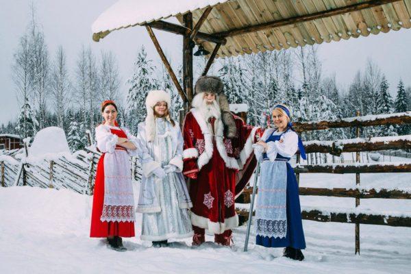 Вотчина карельского Деда Мороза Талви Укко
