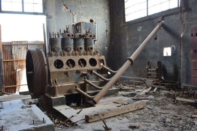 Чакабуко - шахтерский город-призрак, который был тюрьмой