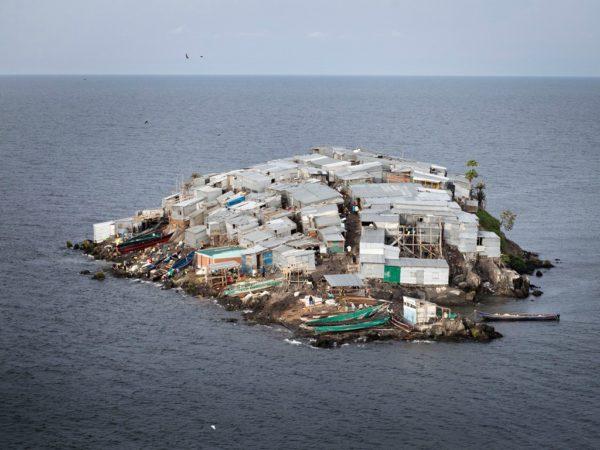 Мигинго - самый густонаселенный остров в мире