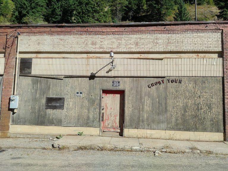 Берк - самый узкий шахтерский город, который стал заброшенным