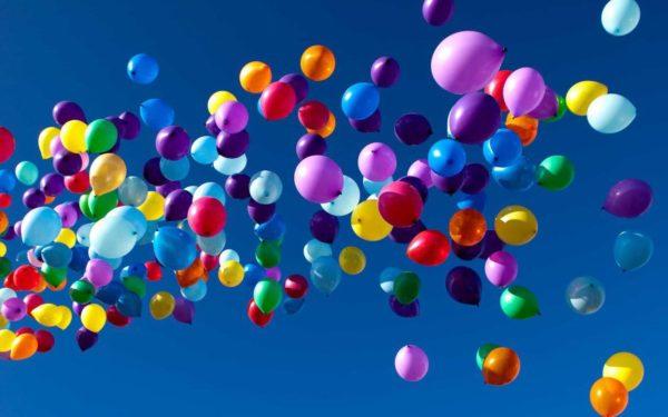 Латексные шары для мероприятия