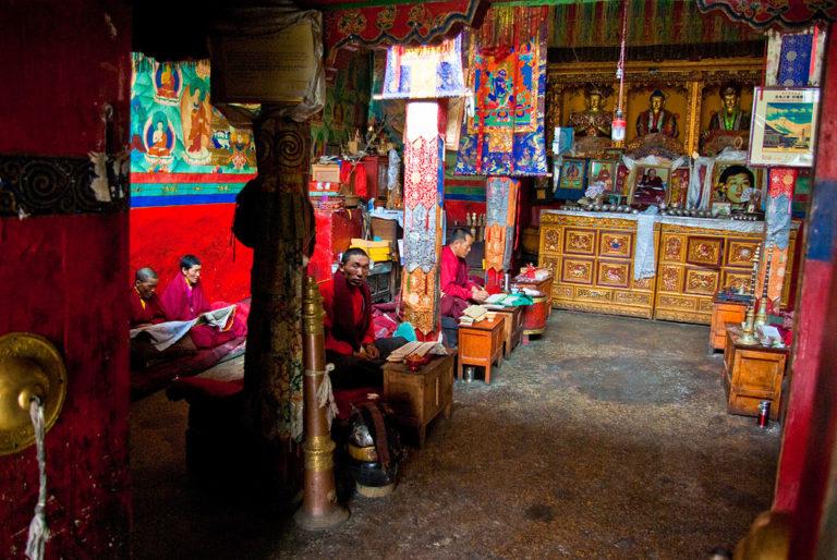 Ронгбук - самый высокогорный монастырь в мире