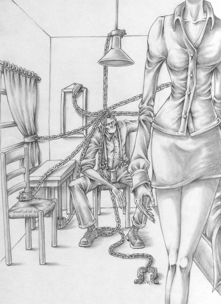 Что не так с обществом 30+ иллюстраций от Аль Маргена