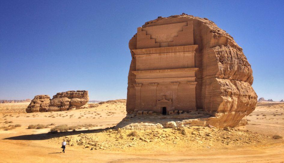Мадаин-Салих - древнейшее строение в Саудовской Аравии