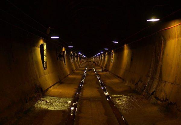 Подземное нефтехранилище в Дарвине, которое так и не пригодилось