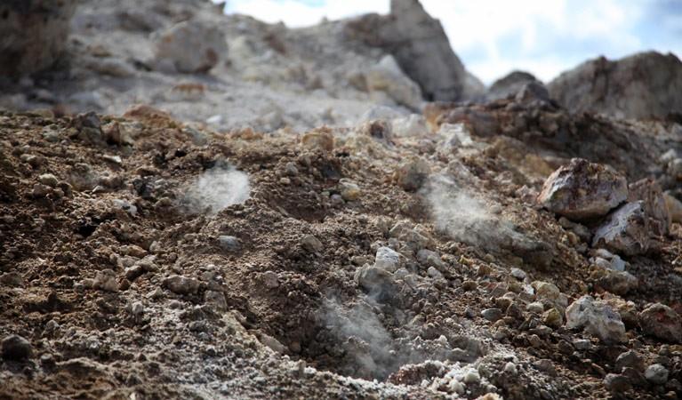 Уинген - гора, которая горит более 6000 лет