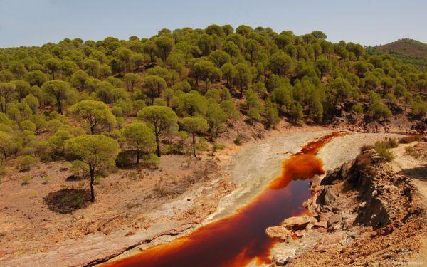Рио тинто красная река испания