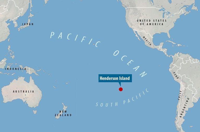 Остров Хендерсон - самый грязный остров в мире
