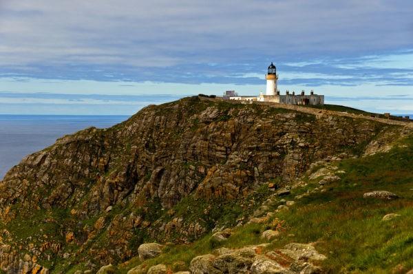 Барра-Хед - самый высокий маяк Шотландии, который сегодня заброшен