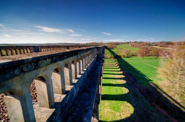 Виадук долины Уз - красивейший кирпичный мост мире